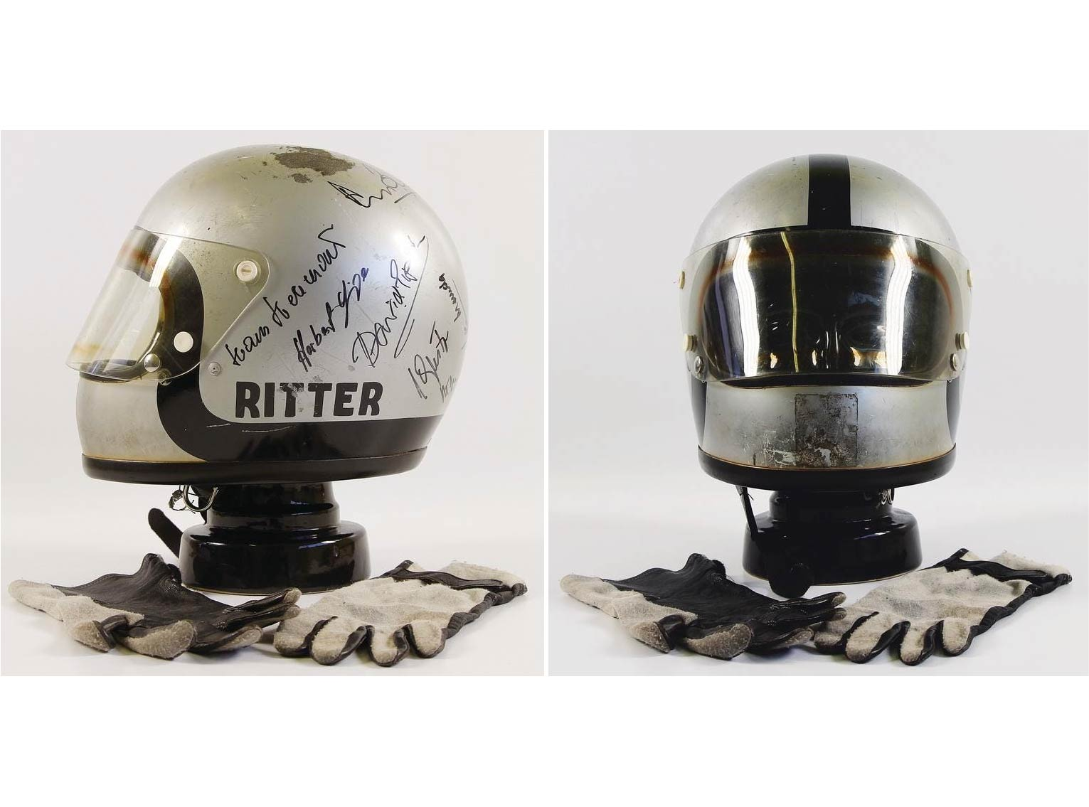 Steve McQueen Le Mans Film Helmet Hero
