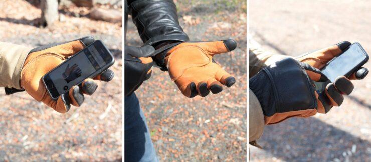 Union Garage D3 Moto Gloves Collage 2