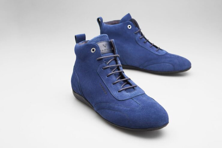 Vandal Iconic Driving Shoes Blue