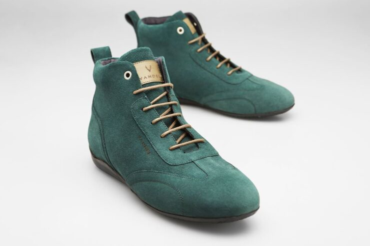 Vandal Iconic Driving Shoes Green