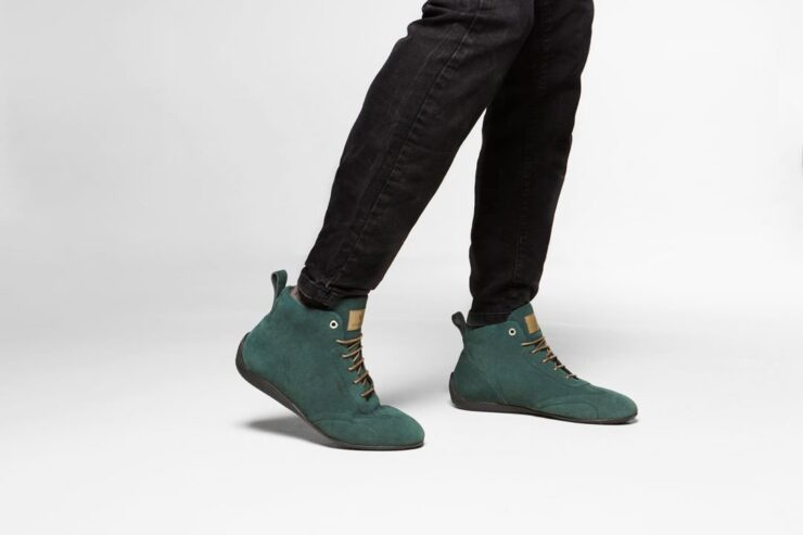 Vandal Iconic Driving Shoes Green Model
