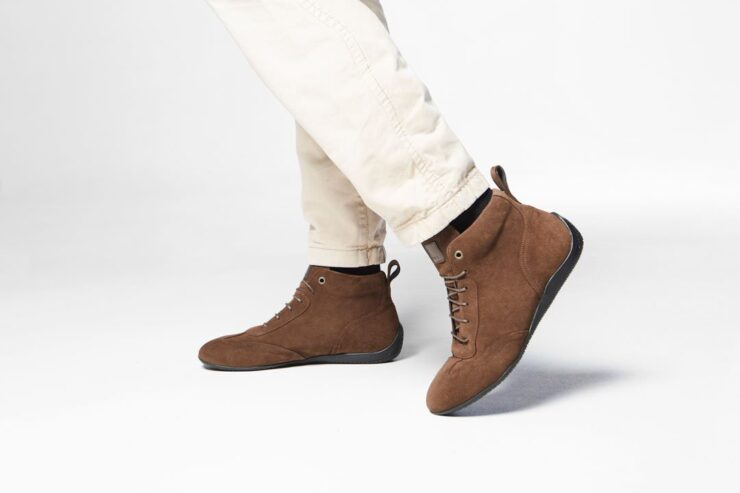 Vandal Iconic Driving Shoes Light Brown Model