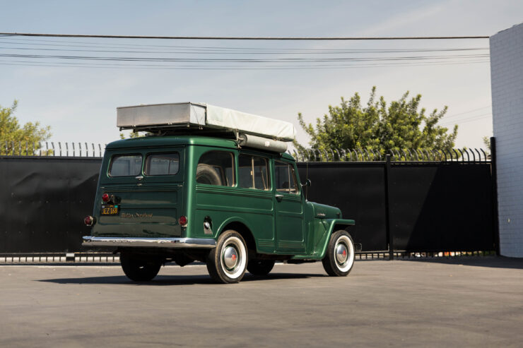Willys Jeep Station Wagon Camper 1