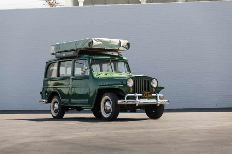 Willys Jeep Station Wagon Camper 16