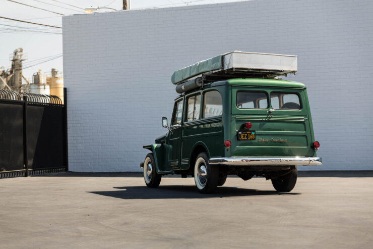 Willys Jeep Station Wagon Camper 17
