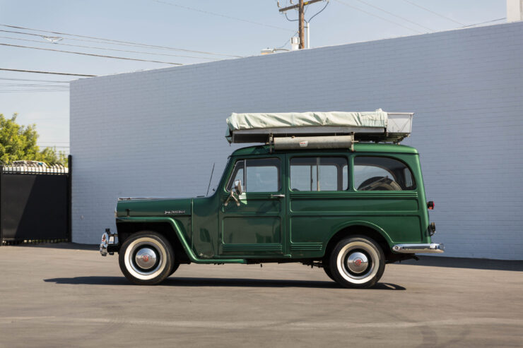 Willys Jeep Station Wagon Camper 18