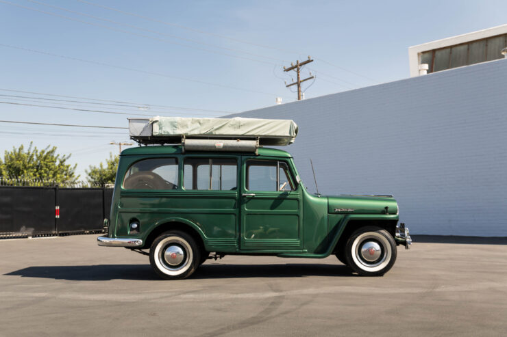 Willys Jeep Station Wagon Camper 4