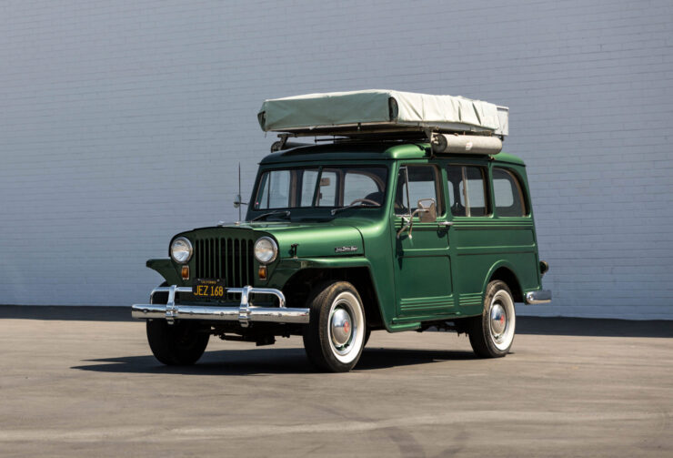 Willys Jeep Station Wagon Camper 7
