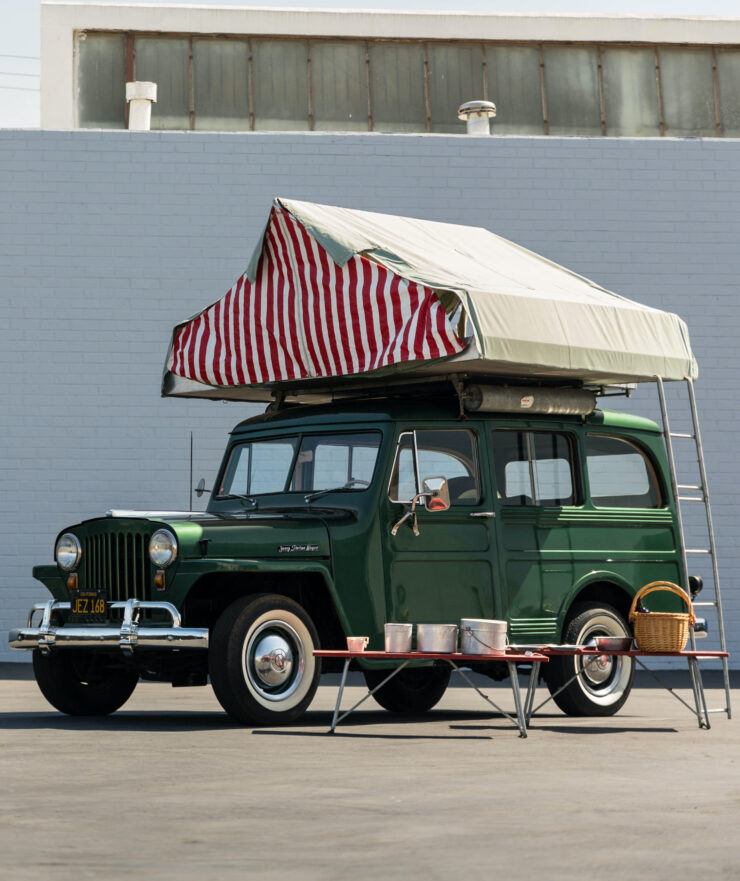 Willys Jeep Station Wagon Camper Car