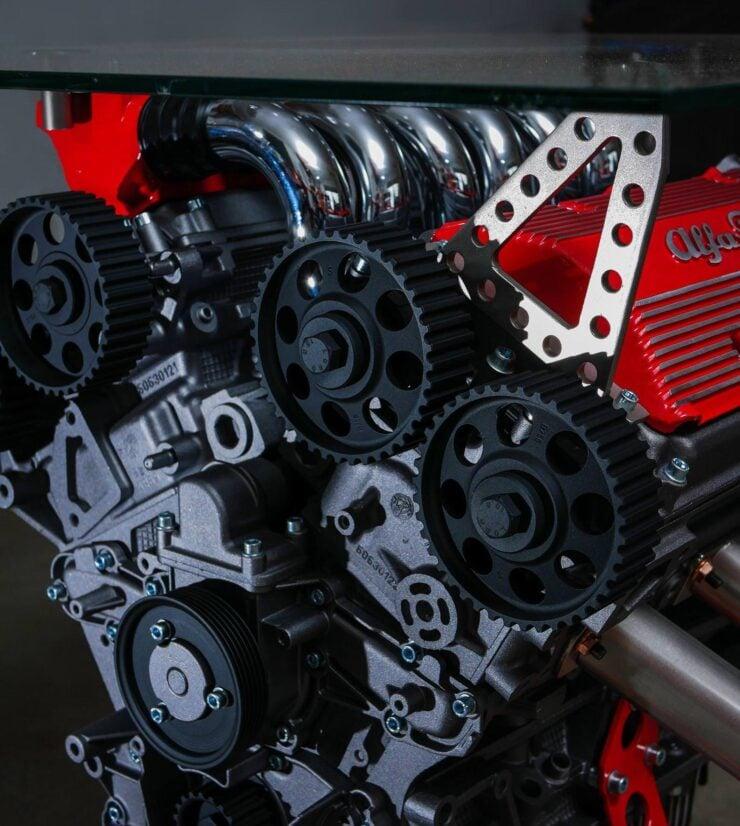 Alfa Romeo Engine Coffee Table 3