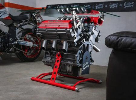 Alfa Romeo Engine Coffee Table
