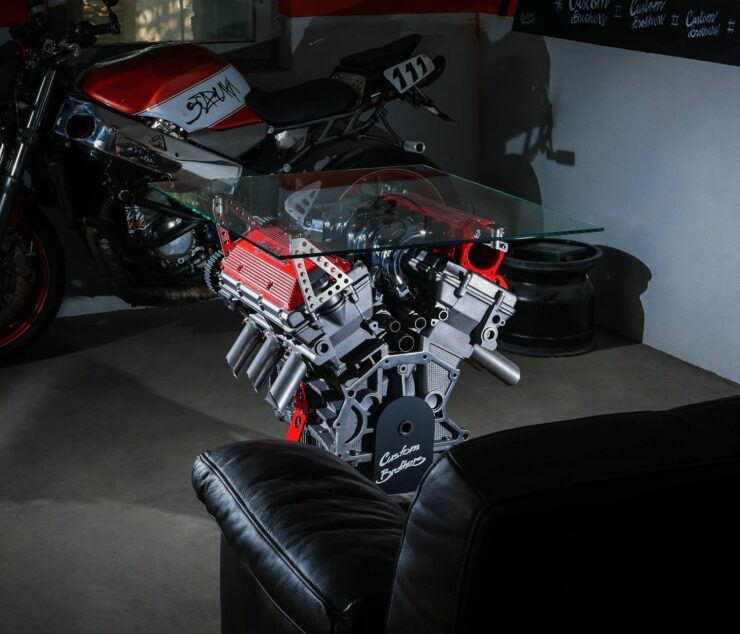 Alfa Romeo Engine Coffee Table 5