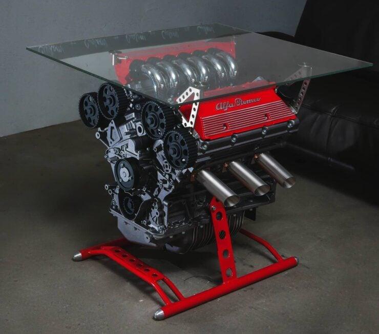 Alfa Romeo Engine Coffee Table 6
