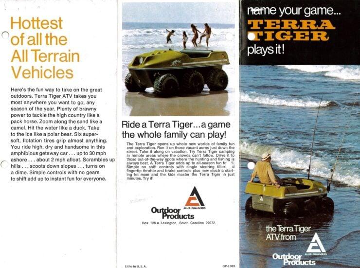 Allis-Chalmers Terra Tiger Page 1