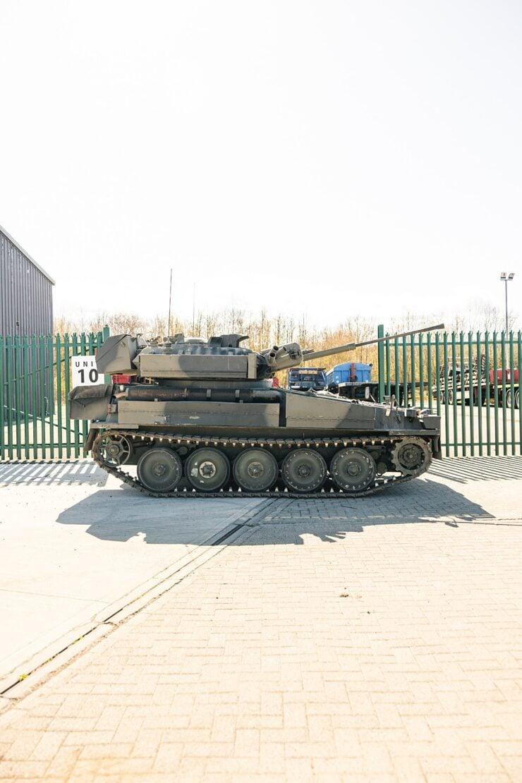 Alvis Sabre Light Tank 11