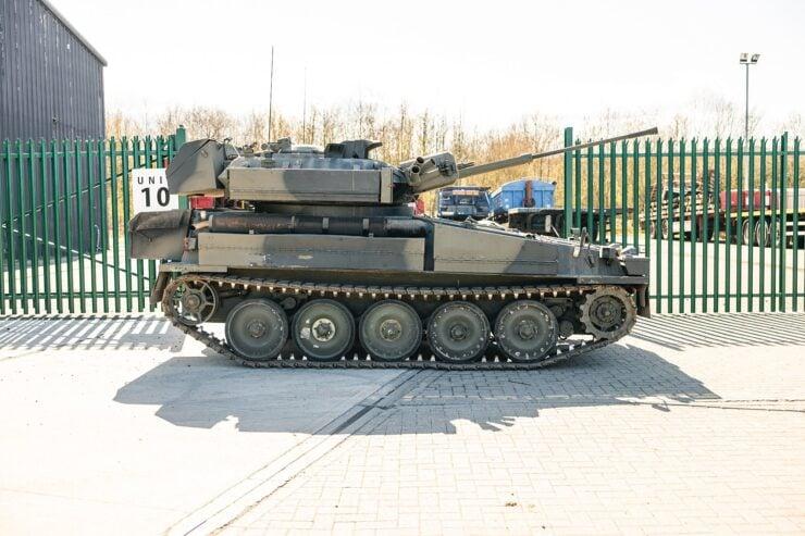 Alvis Sabre Light Tank 12