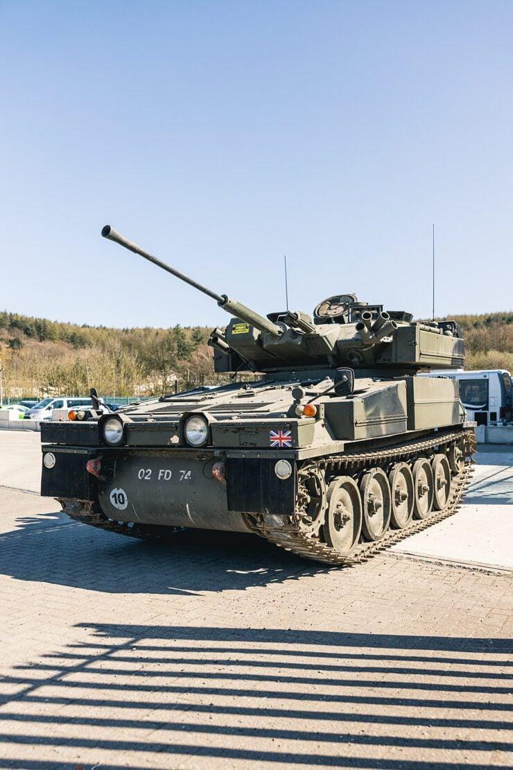 Alvis Sabre Light Tank 13