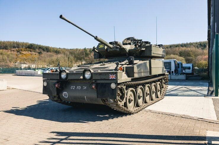 Alvis Sabre Light Tank 14