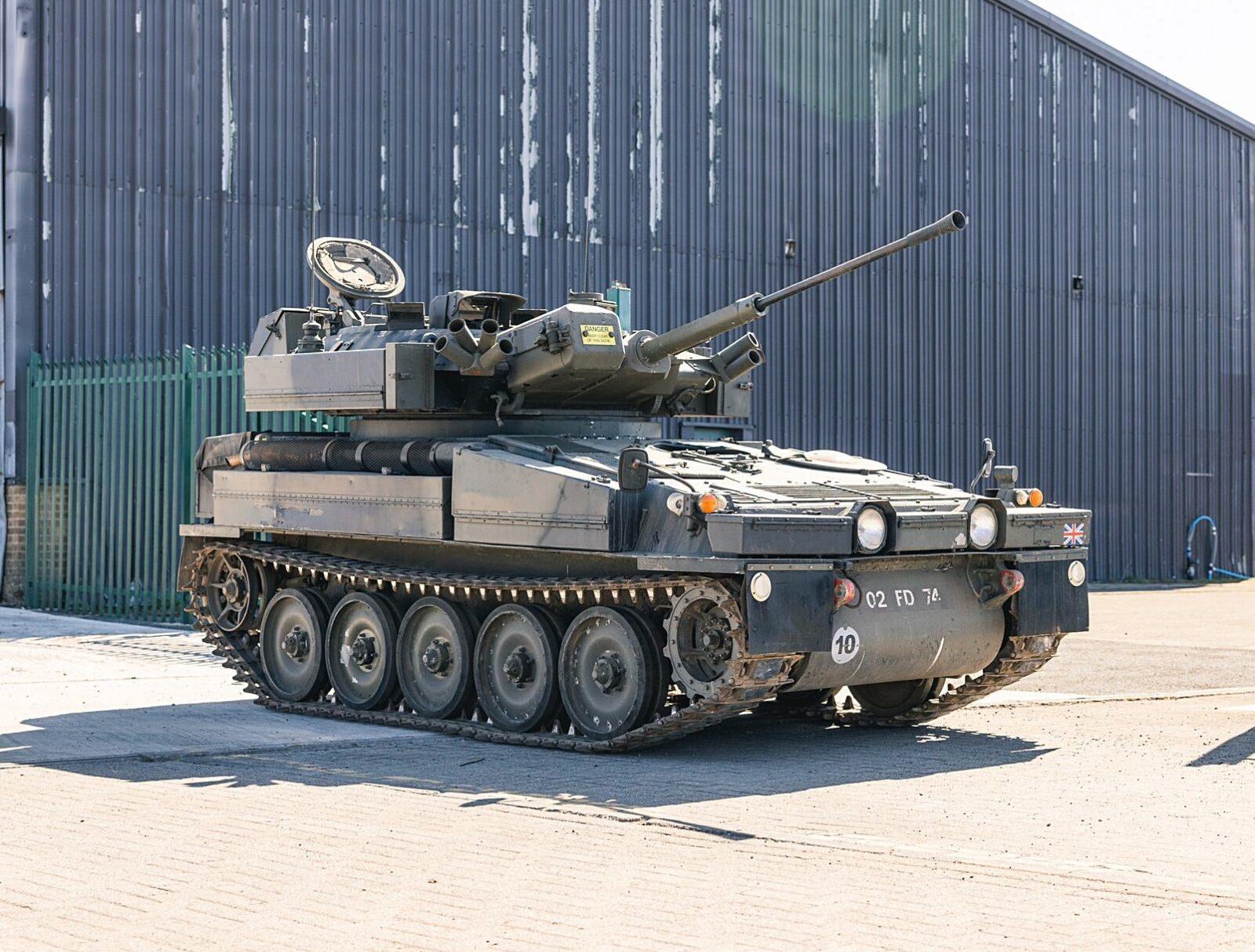 Alvis Sabre Light Tank