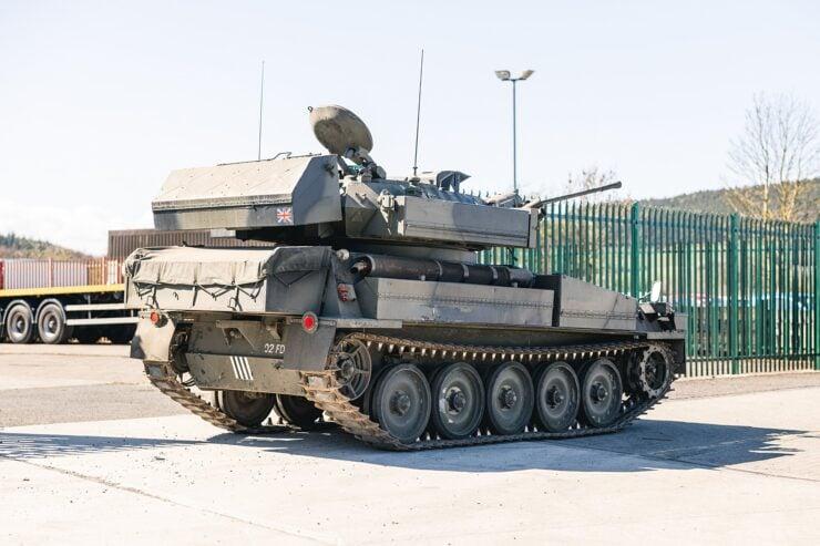 Alvis Sabre Light Tank 2