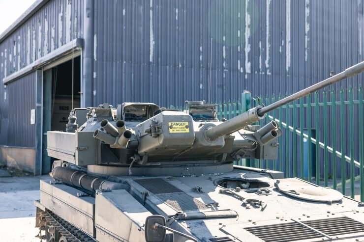 Alvis Sabre Light Tank 8