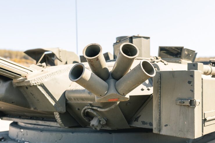 Alvis Sabre Light Tank 9