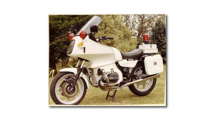 BMW R80 TIC Police Motorcycle