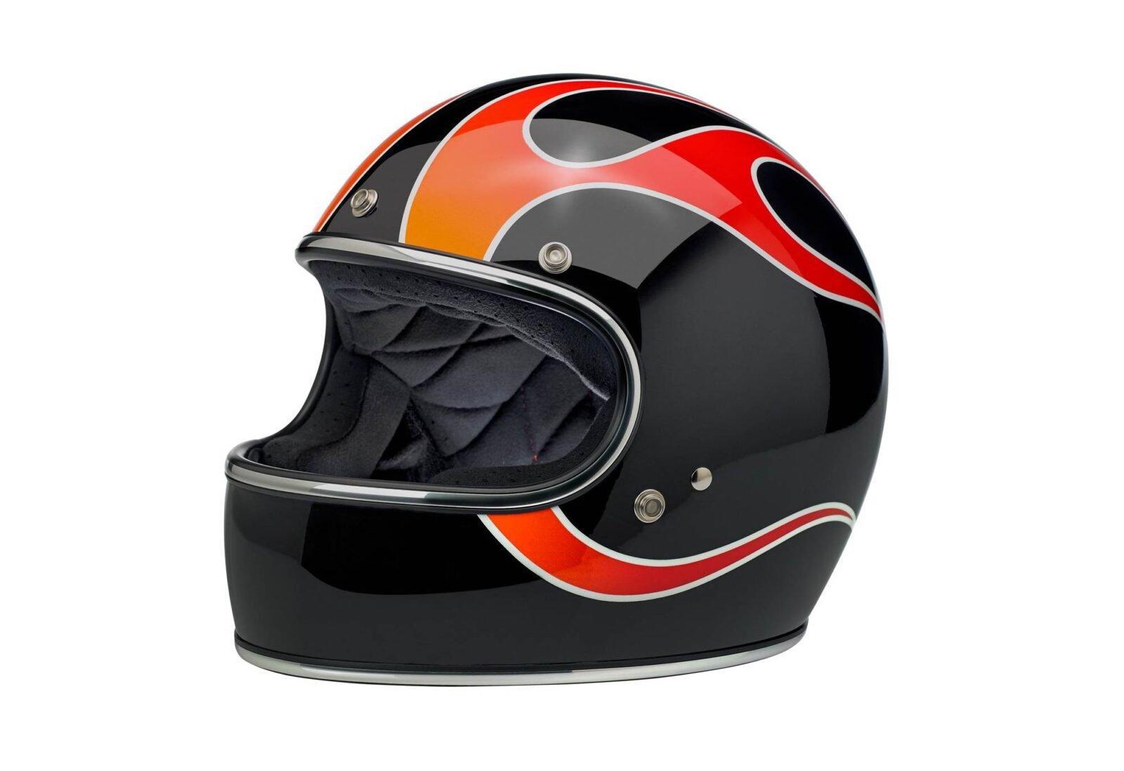 Biltwell Gringo ECE Dice Flame Helmet