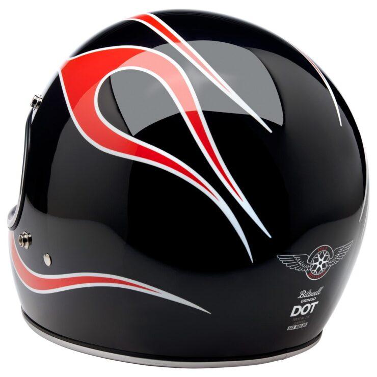 Biltwell Gringo ECE Dice Flame Helmet 7