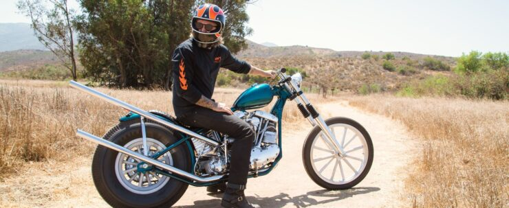 Biltwell Gringo ECE Dice Flame Helmet 8