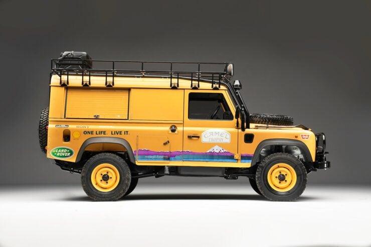 Camel Trophy Land Rover Defender 4