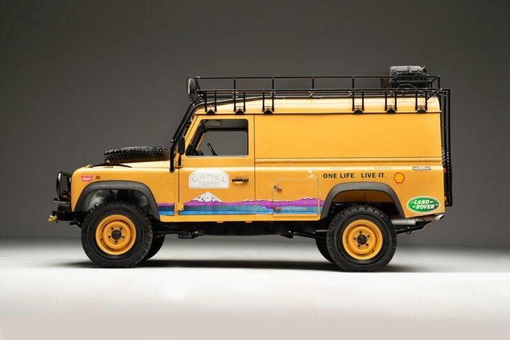 Camel Trophy Land Rover Defender 5