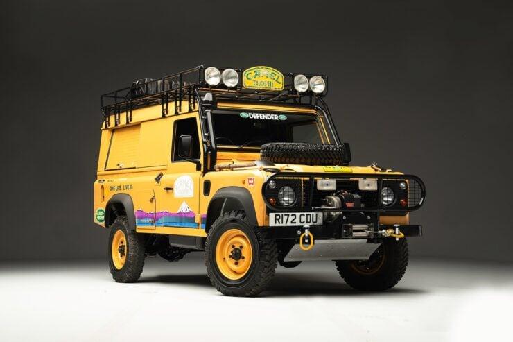 Camel Trophy Land Rover Defender