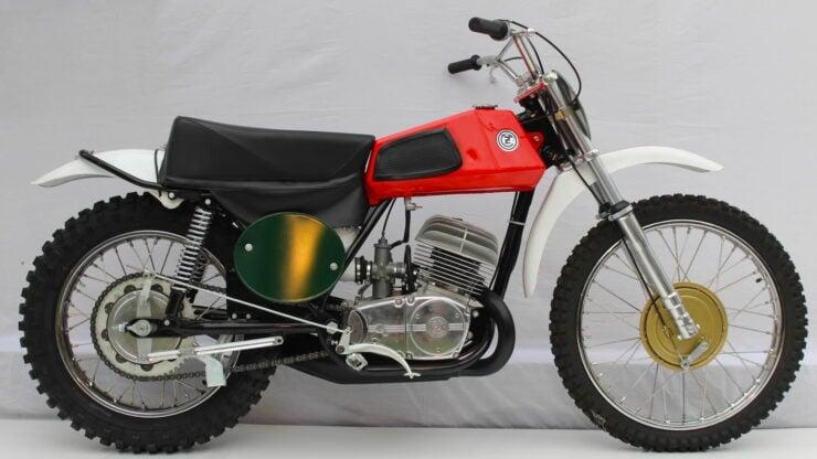 Coffin Tank CZ Motorcycle
