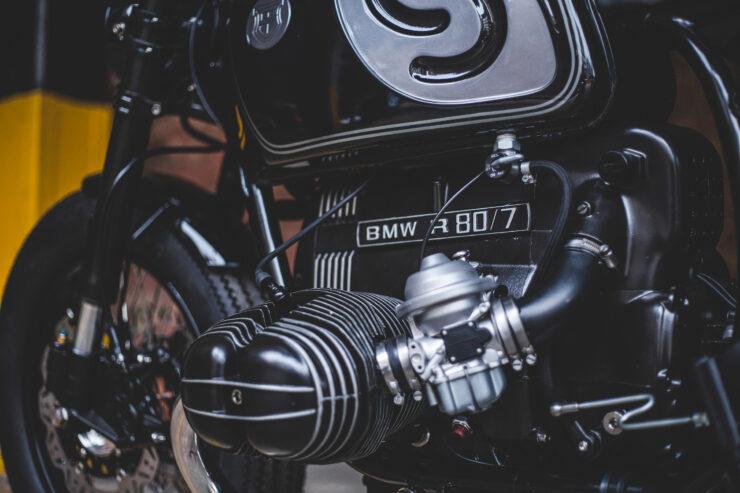 Custom BMW R80 Motorcycle 1