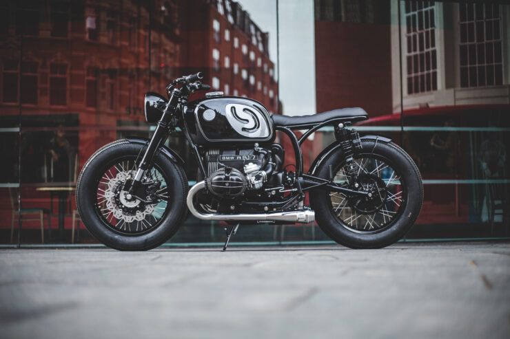 Custom BMW R80 Motorcycle 10