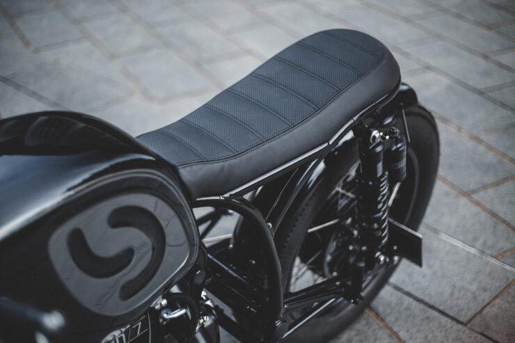 Custom BMW R80 Motorcycle 11