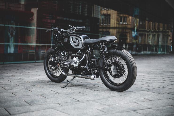 Custom BMW R80 Motorcycle 12