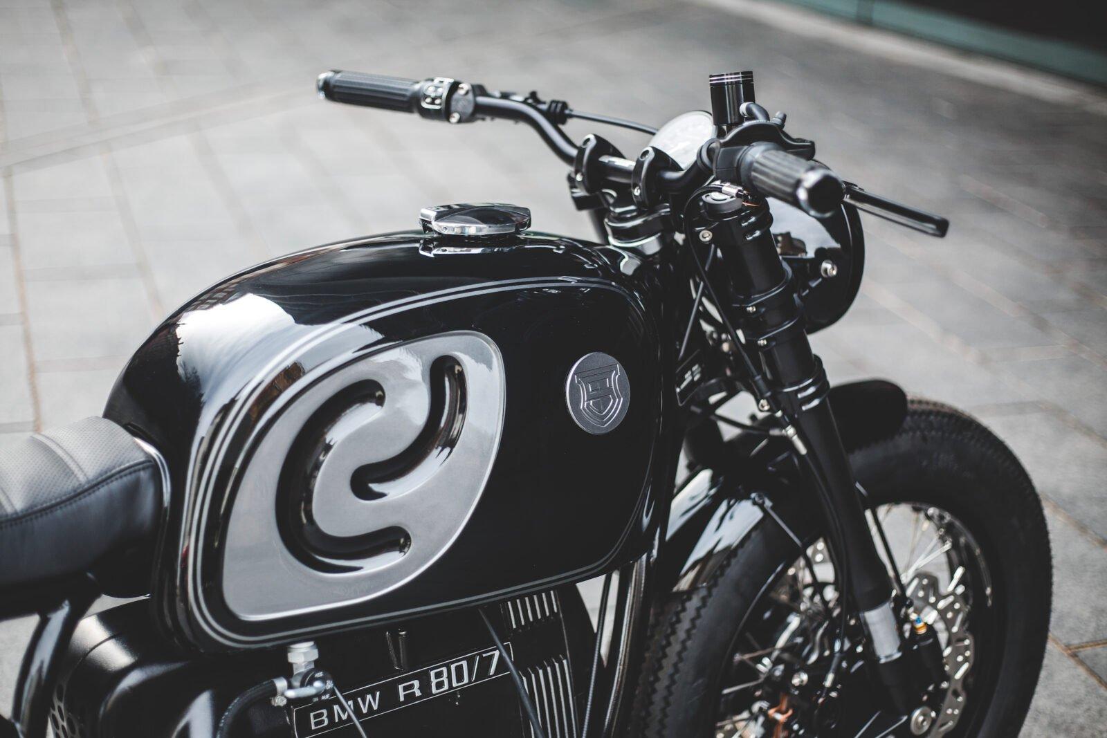 Custom BMW R80 Motorcycle 13