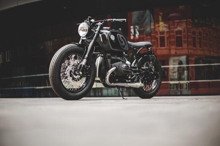 Custom BMW R80 Motorcycle 16