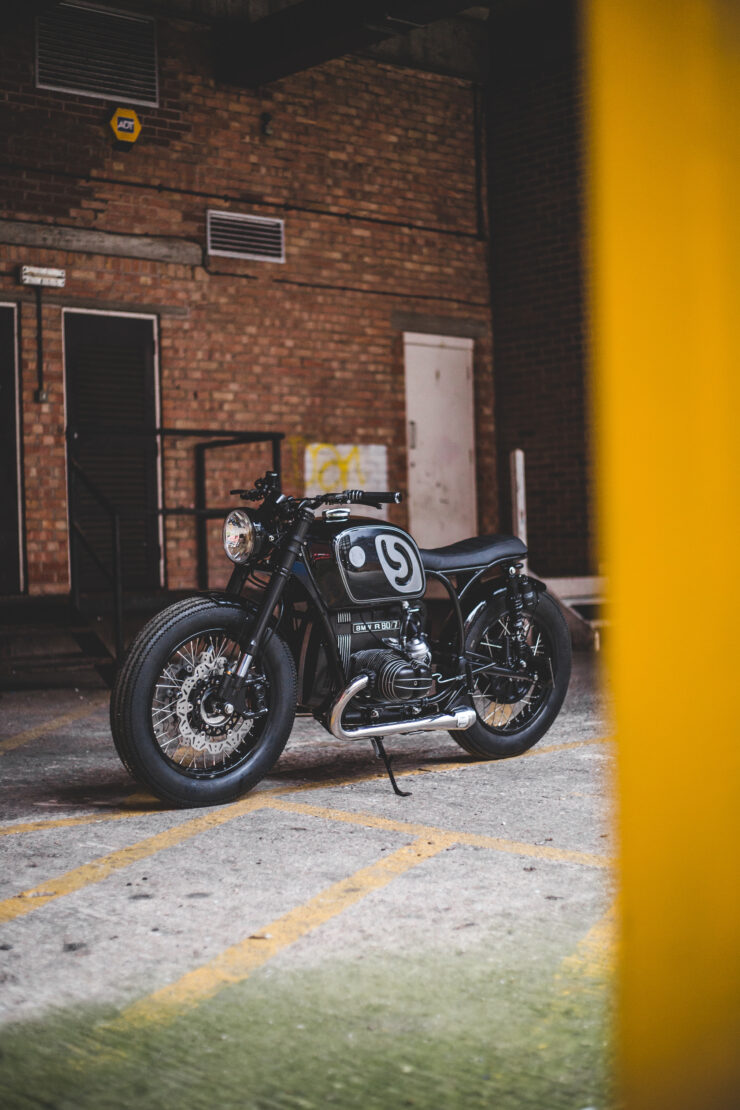 Custom BMW R80 Motorcycle 3
