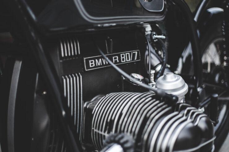 Custom BMW R80 Motorcycle 8