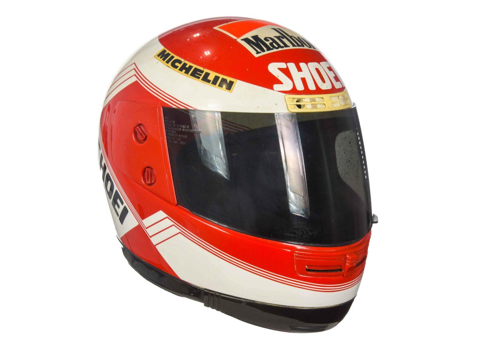 Eddie Lawson Shoei Helmet