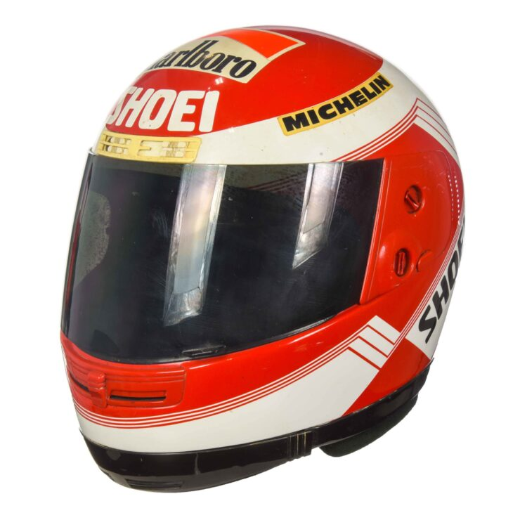 Eddie Lawson Shoei Helmet 2
