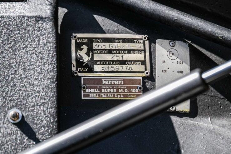 Ferrari 365 GTB 4 Daytona 16