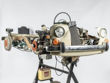 Fiat 1100 Driving School Cutaway Model By Werner Degener