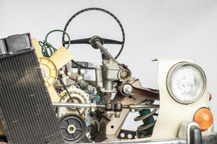 Fiat 1100 Driving School Cutaway Model By Werner Degener 5