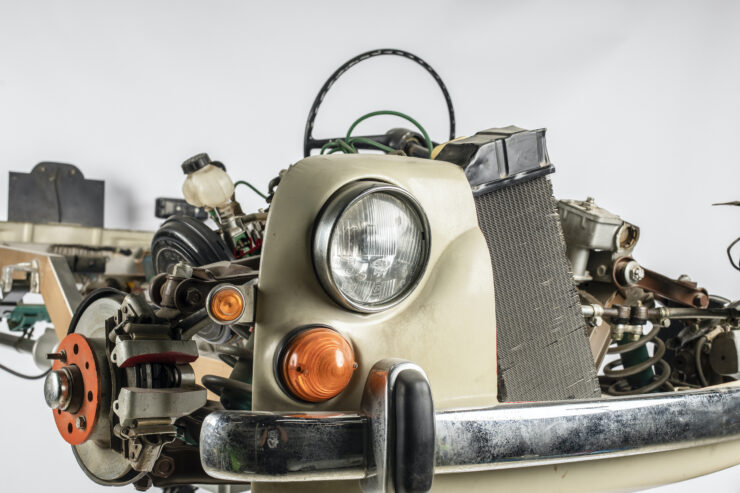 Fiat 1100 Driving School Cutaway Model By Werner Degener 6