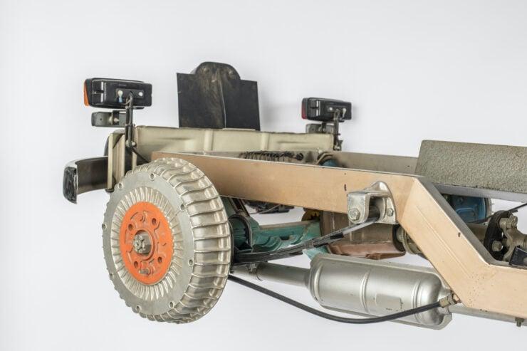 Fiat 1100 Driving School Cutaway Model By Werner Degener 7