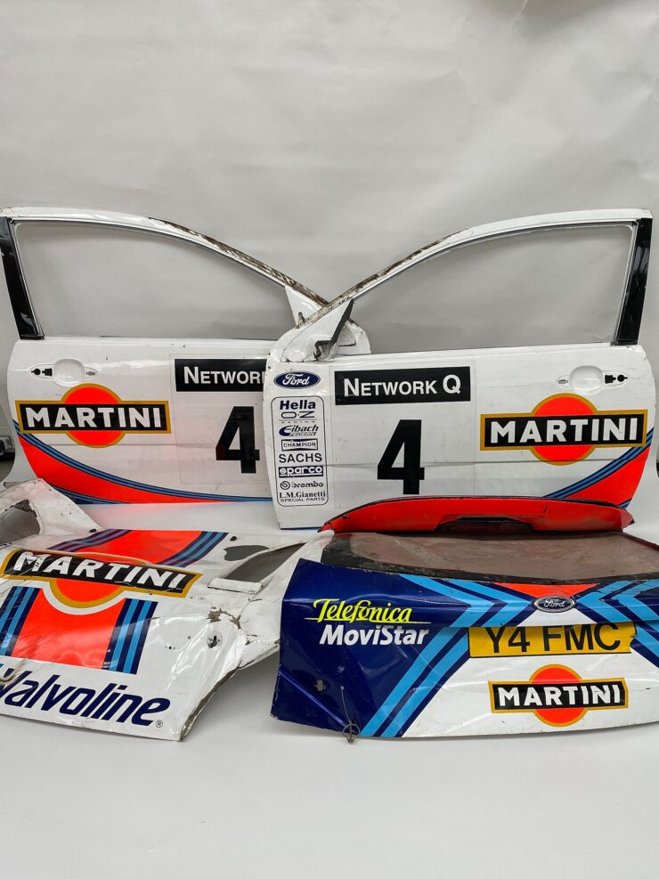 Ford Focus RS WRC Body Panels 3